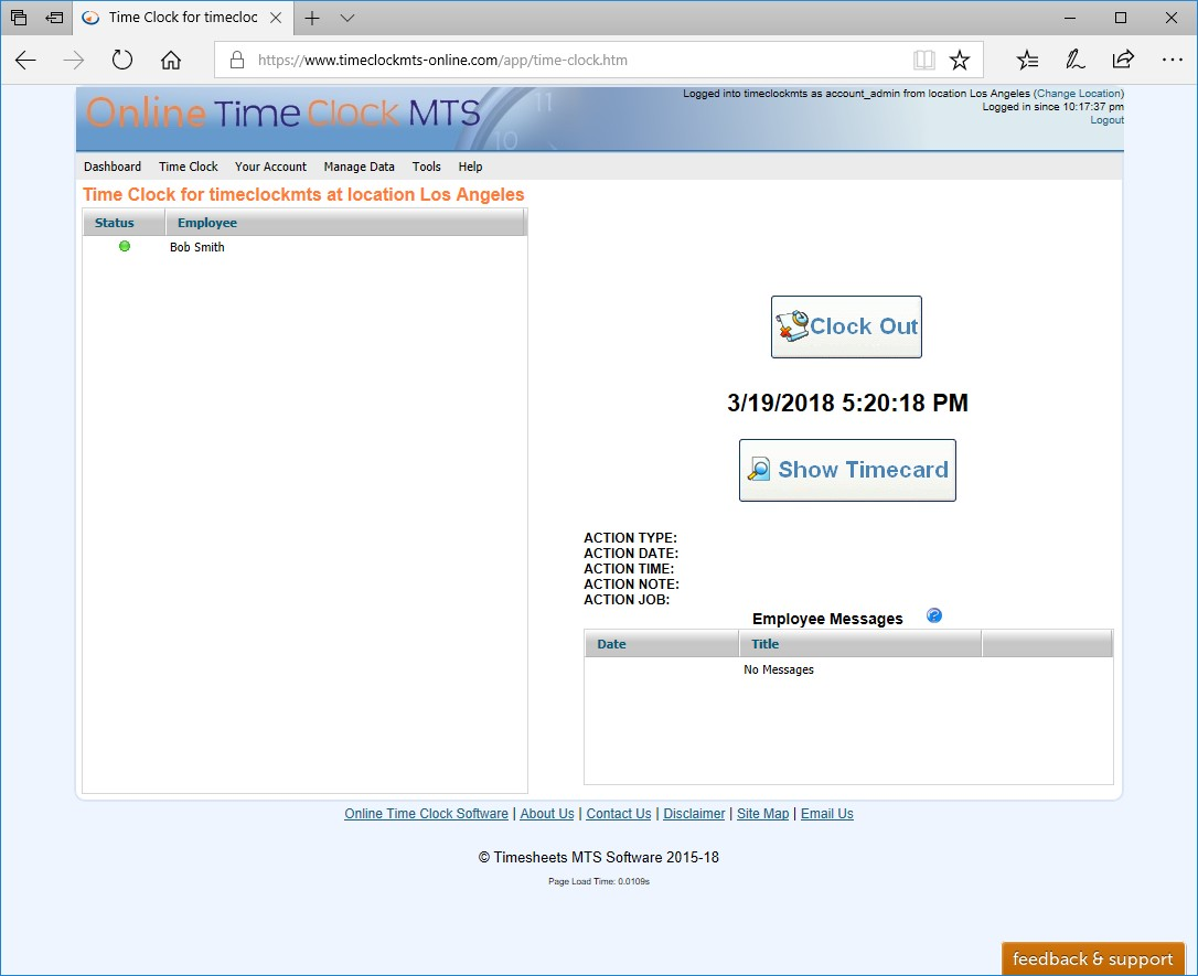 Getting Started With Online Time Clock Mts